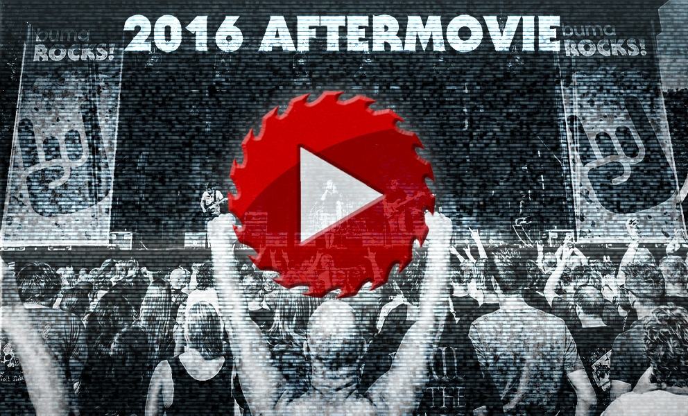 This is the buma rocks 2016 aftermovie